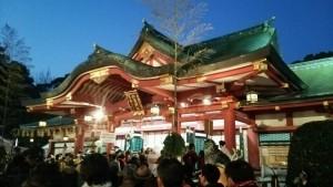 西宮神社~2015年残り福